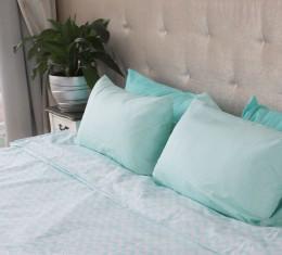 """Комплект постельного белья  """"Голубой"""", хлопок  (68096565) фото 5"""