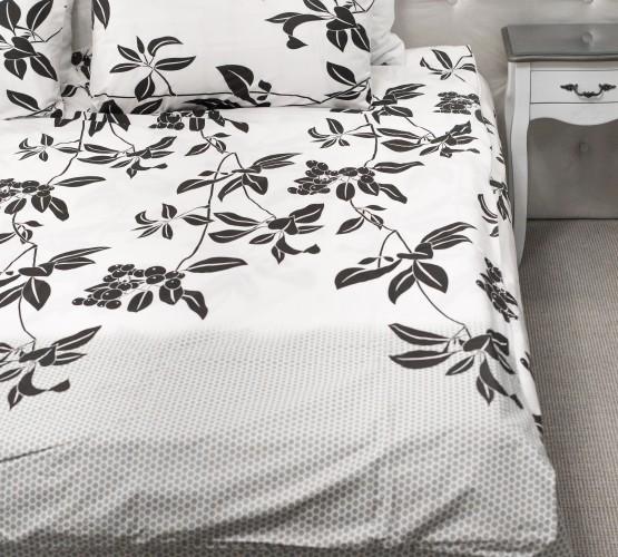 Комплект постельного белья c цветочным  узором, хлопок (68096565) фото 1