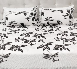 Комплект постельного белья c цветочным  узором, хлопок (68096565) фото 2