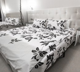 Комплект постельного белья c цветочным  узором, хлопок (68096565) фото 5