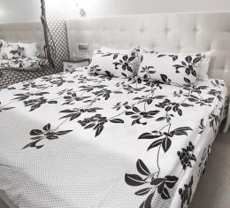 Комплект постельного белья c цветочным  узором, хлопок (68096565) фото 6