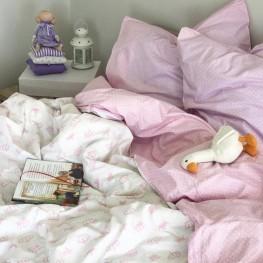 Комплект постельного белья ранфорс Queen