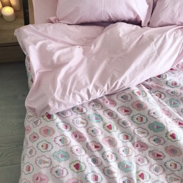 Комплект постельного белья ранфорс Sweet