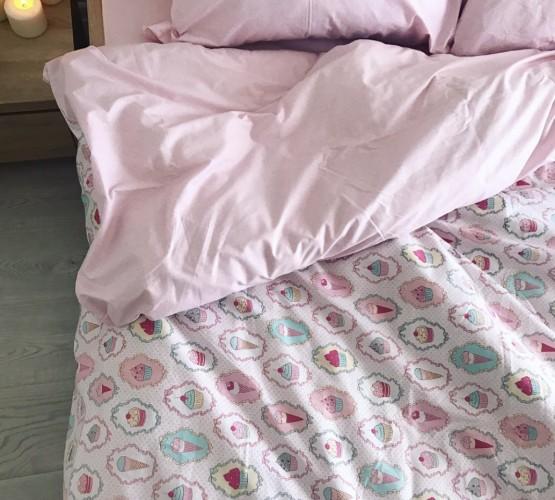 Комплект постельного белья ранфорс Sweet (Комплект постельного белья ранфорс Sweet) фото 1