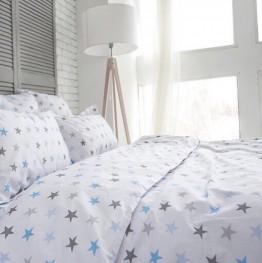 Комплект постельного белья Blue stars