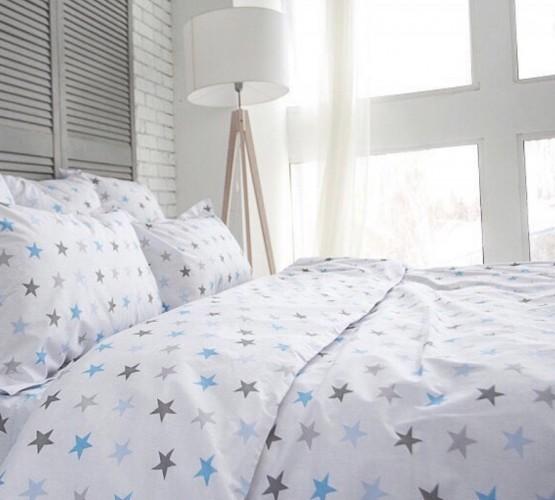 Комплект постельного белья Blue stars (Комплект постельного белья Blue stars) фото 1