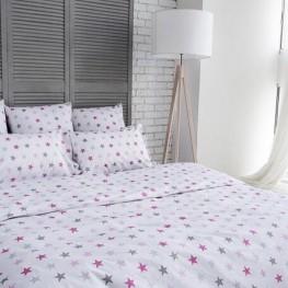 Комплект постельного белья Pink stars