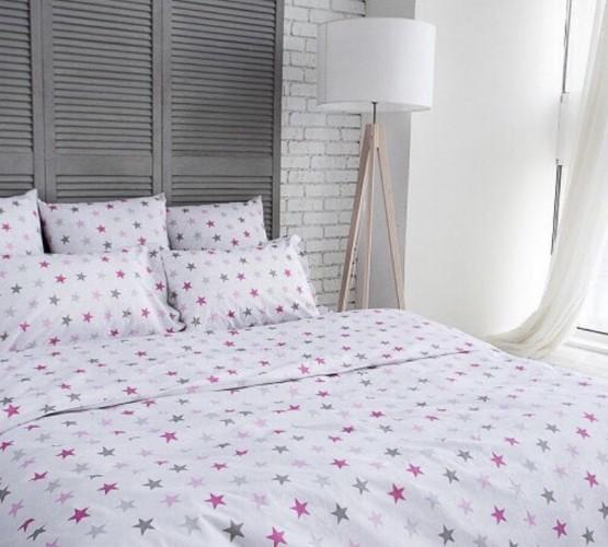 Комплект постельного белья Pink stars (Комплект постельного белья Pink stars) фото 1
